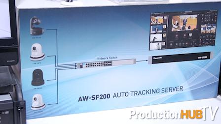 Panasonic Unveils PTZ Camera Auto Tracking Server at InfoComm 2017