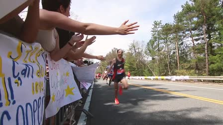 Boston Marathon at Wellesley College