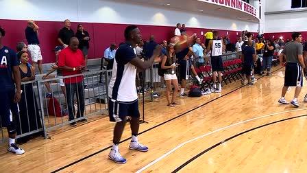 USA Basketball with Victor Oladipo