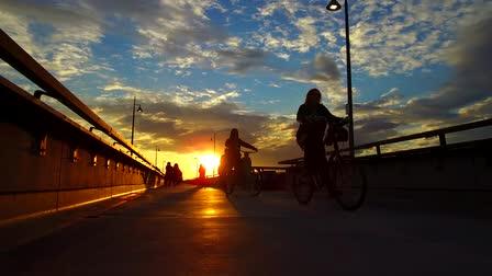 Venice Pier sunset