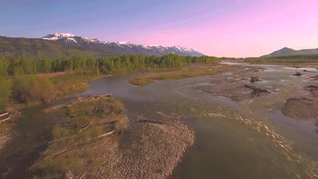 Snake River Grand Tetons Alpenglow