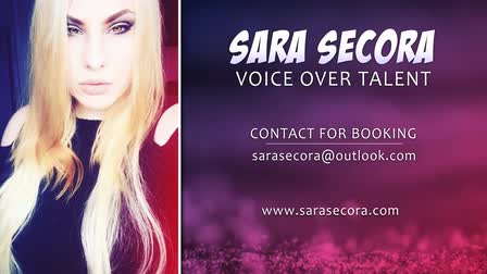 Sara Secora | Character Voice Over Demo Reel (2017)