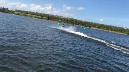 Me riding a jetski