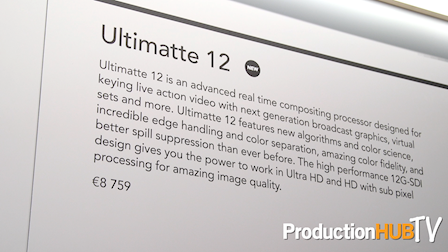 Blackmagic Design Announces Ultimatte 12 at IBC 2017