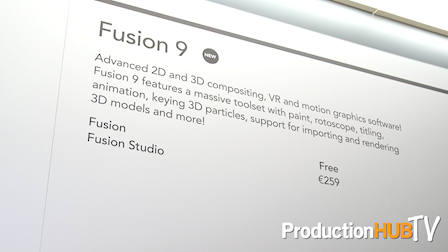 Blackmagic Design Releases Fusion 9 with VR at IBC 2017