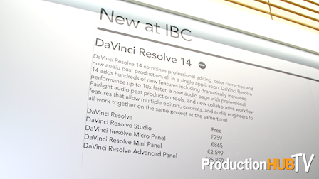 Blackmagic Design Starts Shipping DaVinci Resolve 14 at IBC 2017
