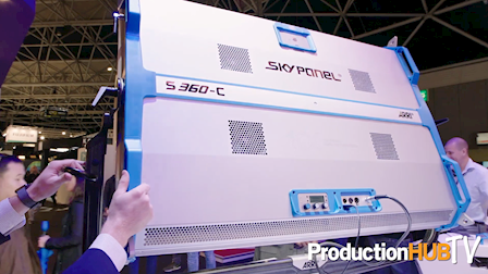 ARRI Introduces New SkyPanel S360-C at IBC 2017