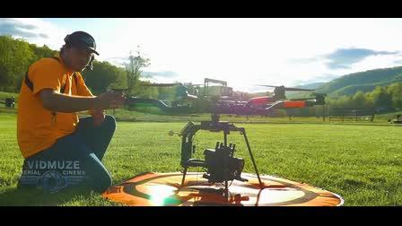 VidMuze Aerial Cinema, LLC in Action!