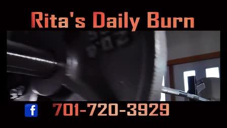 """ Rita's Daily Burn ""  web-ad"