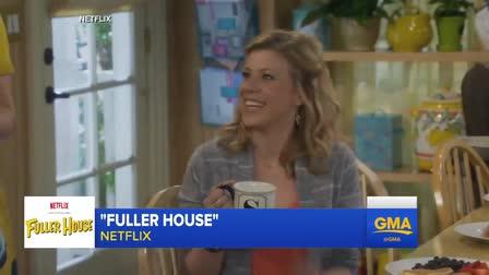 Cast of Fuller House on GMA