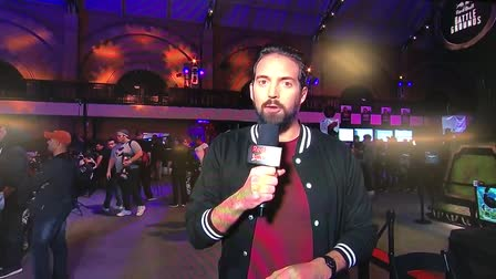 HD Makeup and Hair on the host and commentators of the Red Bull Battlegrounds Tournament.