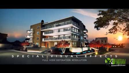 3D Architectural Walk Through - Animation Showreel - Virtual Tour 2017