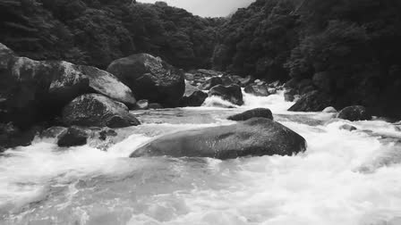 Water landscape of Yakushima