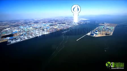 3D Animation - Motion Graphics Presentation for Logistics Commercial Warehouse Center in South Korea