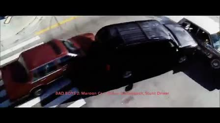 Stunt Driving Clip - Robin Dallenbach - Bad Boys 2