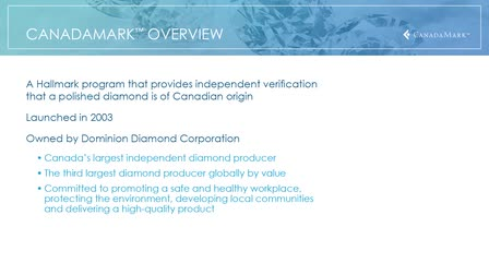 CanadaMark - Product and Sales Training