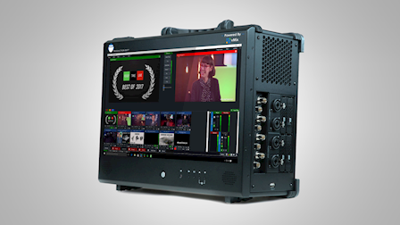 Production Bot Showcases the Switch 8 Portable Live Production Switcher at NAB 2018