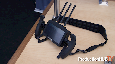 SmallHD Intro's FOCUS Bolt TX and RX Touchscreen Wireless Monitoring at NAB 2018
