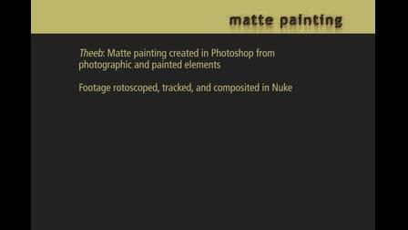 Matte Painting demo reel