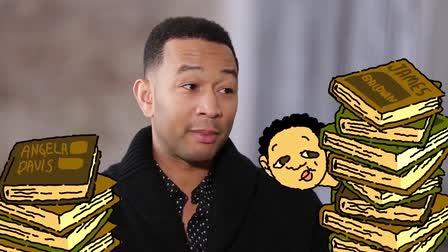 John Legend + Jesse Willams Art and Activism