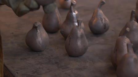 Sculptor Laura Baring-Gould