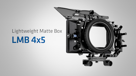ARRI Demonstrates the Modularity of the Lightweight Matte Box 4x5 at Cine Gear 2018