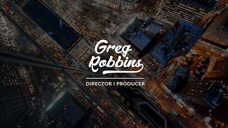 Greg Robbins Reel 2018