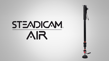 The Tiffen Company Showcases the Steadicam Air Monopod at Cine Gear 2018