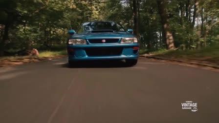 Subaru Vintage Garage - Subaru 22b the Halo STI