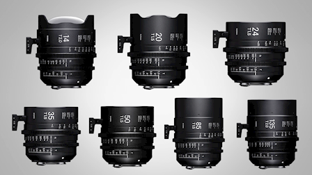 Sigma Covers Super 35 & Full Frame with 10 Lens Cine Lineup at Cine Gear 2018