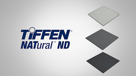 Tiffen Showcases NATural Neutral Density Filtration & Split Field Diopters at Cine Gear 2018