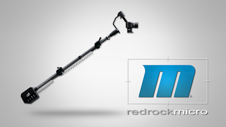 Redrock Micro's New DigiBoom Gimbal Stabilized Rig at Cine Gear 2018