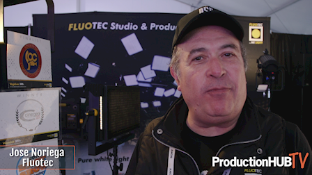 Fluotec Showcases the Vegalux 200 UHP StudioLED Fresnel at Cine Gear 2018