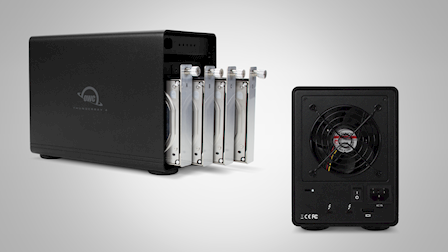 OWC Shows Off Thunderbolt 3 SSD Array's & Chassis at Cine Gear 2018