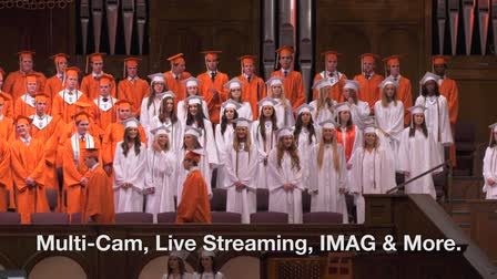 Graduation Live Event Recording and Streaming