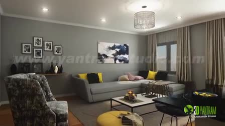 Modern House Design Ideas by Yantram 3d virtual walkthrough