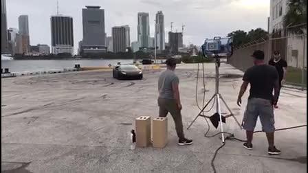 Lamborghini Stunts
