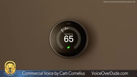 Cam Cornelius Commercial Voiceover