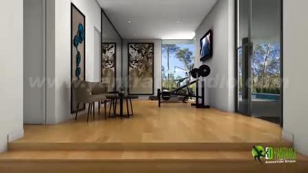 3D Home Design Walkthrough by Yantram architectural design studio