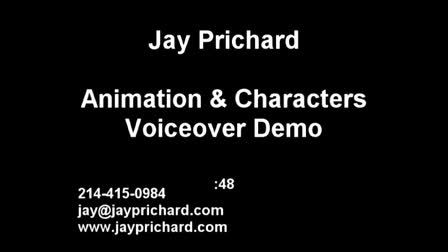 Animation and Characters Voiceover Demo - Jay Prichard
