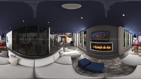 360 Degree Walkthrough Animation by Yantram Virtual Tour Designer ( 360 Video House Designs)