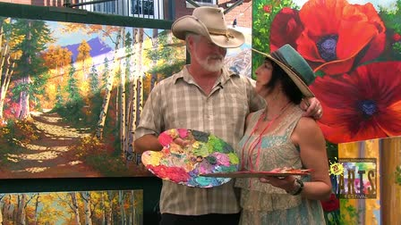 Interview with Artists Kevin and Wendy Schaefer-Miles