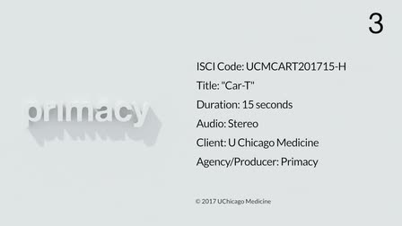 University of Chicago Medicine - CAR T Cell Therapy TV Spot