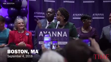 TIME | Ayanna Pressley's Election Speech