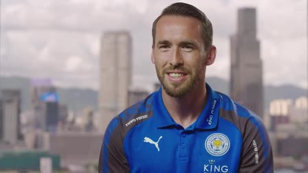 Christian Fuchs talks business with DHL Premier League season