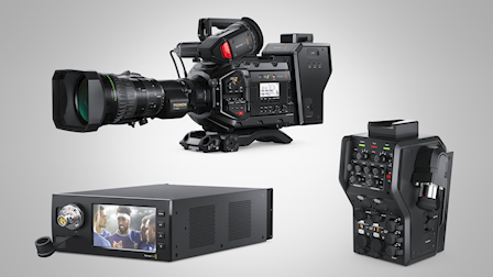 Blackmagic Design Showcases URSA Broadcast with Fiber Converters at IBC 2018