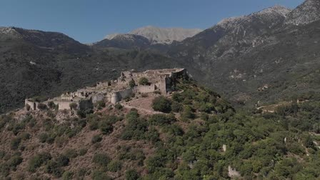 Drone - Mystras, Greece