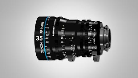 Schneider Kreuznach Showcases Xenon Full Frame Cine-Tilt Lenses to IBC 2018