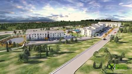 3D Residential Community Interior & Exterior Design By Yantram 3D Walkthrough Visualization