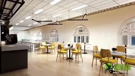 3D Interior Office Walkthrough Animation by Yantram Architectural Walkthrough Services, Australia
